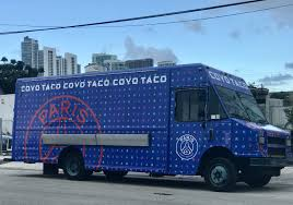 Where To Find Coyo Taco's Paris Saint-Germain Food Truck | Miami New ... Miamis Top Food Trucks Travel Leisure 10step Plan For How To Start A Mobile Truck Business Foodtruckpggiopervenditagelatoami Street Food New Magnet For South Florida Students Kicking Off Night Image Of In A Park 5 Editorial Stock Photo Css Miami Calle Ocho Vendor Space The Four Seasons Brings Its Hyperlocal The East Coast Fla Panthers Iceden On Twitter Announcing Our 3 Trucks Jacksonville Finder
