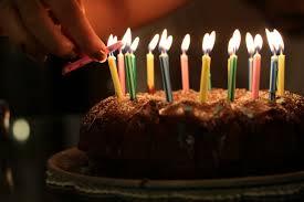 Cake Candles Birthday Cake Birthday Dessert Food