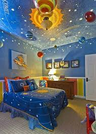 15 Fun Space Themed Bedrooms for Boys Rilane