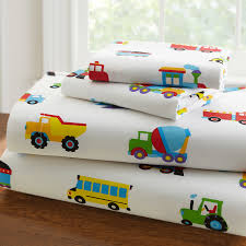Trains Airplanes Fire Trucks Toddler Boy Bedding 4pc Bed In A Bag ...