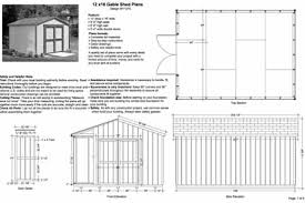 12x16 Storage Shed Plans by Plan From Making A Sheds Free 12x16 Shed Plans 8x6 U003d Info