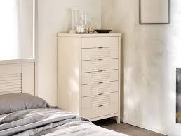kommode mit 7 schubladen aus massivholz für schlafzimmer