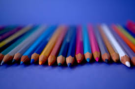 Art Materials Close Up View Color Pencils Colorful Colors Colours Multicolored Sharp Wood 4k Wallpaper And Background