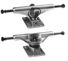 Silver M-Class Polished Silver Skateboard Trucks | Boardersonline ... 180mm Paris V2 50 Raw Longboard Skateboard Truck Muirskatecom Krux Trucks Part 2 Cruising Buyers Guide Amazoncom Thunder Polish Hi 147 High Performance Hollow Light Pro 147151 Turbo 525 80 Axle Set Of Venture All Sizes Rampworx Shop 155mm Bear Polar Raw Uncategorized Medusaskates Patent Us8251383 Truck Assembly Google Patents