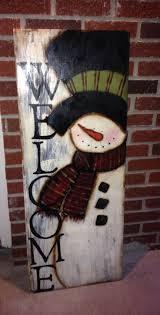 Best 25 Painted Snowman Ideas On Pinterest