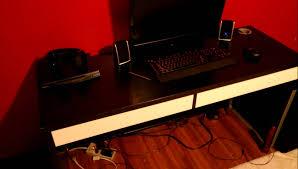 Ikea Study Desk With Hutch by Decorating Pretty Ikea Micke Desk In White With Storage And Hutch