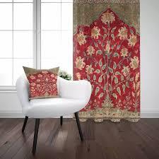 sonst rot braun grün vintage türkische blume authentische 3d drucken wohnzimmer schlafzimmer fenster panel vorhang kombinieren geschenk kissen fall