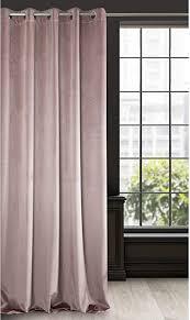 eurofirany vorhang velvet puder samt 1 stk weich 10 ösen edel hochwertig schlafzimmer wohnzimmer lounge polyester 140x250cm