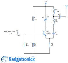 cellphone jammer circuit diagram