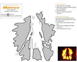 Harley Quinn Pumpkin Template by The 17 Best Pumpkin Carving Templates For A Geeky Halloween