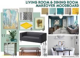 Living Room Design Template Lovely Dining Makeover Moodboard The Diy Homegirl Aqua