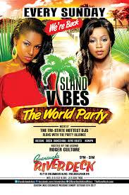 island vibes caribbean night riverdeck