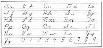 Samples Click To Enlarge Basic Manuscript Cursive