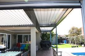 Louvered Patio Covers California by Vergola Roof U0026