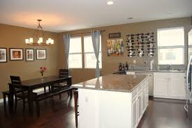 Rectangular Living Room Dining Room Layout by Kitchen Amusing Picture Of Open Floor Plan Kitchen Decoration