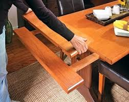 Extension Dining Table Plans Chairs Expandable Slide Out Trestle