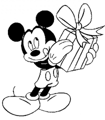 Mickey Mouse Birthday Coloring Pages Kids And Pdf