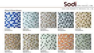 Decoration 4 Glass Tile Marble Mosaic Flooring CoveringDecoration 5