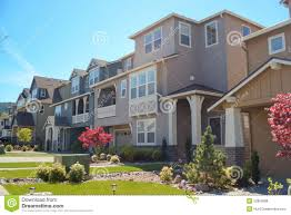 100 Contemporary Houses In America Stock Photo Image Of Lawn