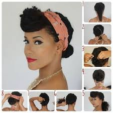 9 Retro Updos That Will Bring Out Your Inner Pin Up Girl
