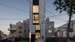 104 House Tower Isa S Tiny Residence Fills Leftover Plot In Philadelphia