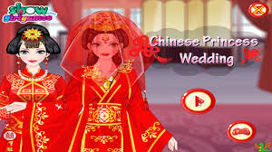 chinese princess wedding game dress up video games for girls