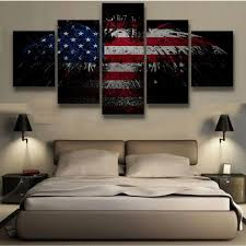 Military Mission Flag Multi Panel Canvas Wall Art Multi Canvas