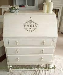 bureau stylé parisian style shabby chic oak bureau restored to be adored