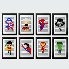 wall ideas diy superhero party decorations wall art superhero