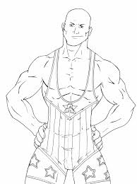 Wwe Raw Coloring Pages 14 Free Printable WWE For Kids