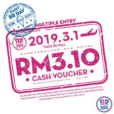Baskin Robbins Cash Voucher March 2019 - Coupon Malaysia ... Baskin Robbins Free Ice Cream Coupons Chase Coupon 125 Dollars Product Name Online At Paytmcom 50 Off Paytm National Ice Cream Day Freebies And Deals Robbins Coupons Get Off Deal 3 Your Next Baskrobbins Cake Or Dig Into Freebies On Diamonds Dads Dog Food Printable Home Delivery Order Online Hirdani 2 Egift Card Expires 110617 Singleusecodes Buy One Get Tuesday 2018 Store Deals Cookies Pralines N 500ml