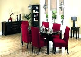 Red Kitchen Table Set Cheap Dining And Chairs Room Chair Covers