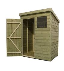6x3 Shed Bq by Empire 1500 Pent Range 5x3ft