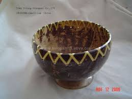 Various Souvenirs From Coconut Shells