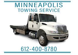 Flat Bed Tow Truck, Minneapolis, MN. 612-400-8780
