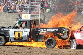 Referee Pulls Man From Burning Truck At Demo Derby | Local News ... Fall Brawl Truck Demolition Derby 2015 Youtube Exdemolition Derby Truck Dave_7 Flickr Burn Institute Fire Safety Expo And Firefighter Demolition Derby Editorial Stock Photo Image Of Destruction 602123 Pickup Truck Demo Big Butler Fair Family Sport Logan Duvalls Car Holley Blog Great Frederick Fairs First Van Demolition Goes Out Combine Wikipedia Union Maine 2018 Sicom Thorndale