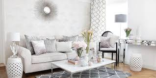 wohnzimmer look in rosa weiß silber instashop