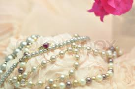 Nice Wedding Background With Pearls
