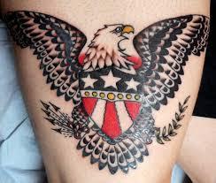 Sailor Jerry Eagle Tattoos