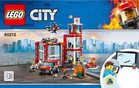 100 Lego Fire Truck Games LEGO Station Instructions 60215 City