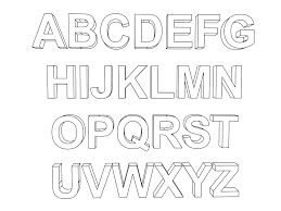 100 Ideas Abc Coloring Pages Preschoolers On Wwwartideias Within English Alphabet