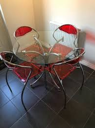 Stylish Chrome, Glass And Red Plastic Kitchen Dining Table   In ... Cuba Stackable Faux Leather Red Ding Chair Acrylic Chairs Midcentury Room By Carl Aubck For E A Pollak Fast Food Ding Room Stock Image Image Of Lunch Ingredient Plastic Outdoor Fniture Makeover Iwmissions Landscaping Modern Red Kitchen Detail Area Transparent Rspex Table Murray Clear Set Of 2 Side Retro Red Ding Lounge Chairs Eiffle Dsw Style Plastic Seat W Cool Kitchen From The 560s In Etsy 2xhome Gray Mid Century Molded With Arms 24 Incredible Covers Cvivrecom