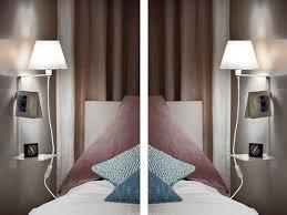wandle schlafzimmer mit ablage schalter kabel weiß