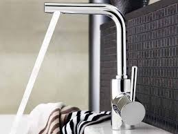bathroom awesome grohe faucets in silver with single handle for