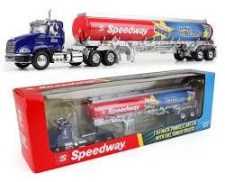 100 Gasoline Truck First Gear Speedway Tanker 164 Scale Diecast
