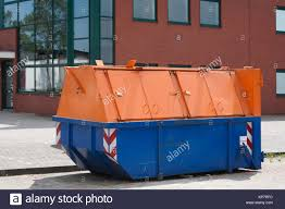 100 Steel Shipping Crates Garbage Containers Stock Photos Garbage