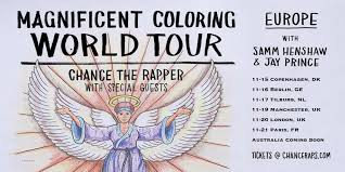 Read Next Chance The Rapper Is On An Ultralight Beam Gospel Influenced Coloring Book