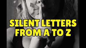 Silent Letters In English From A To Z Pronunciation Practice YouTube