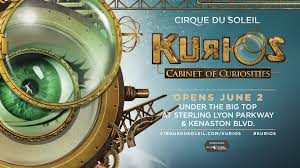 Kurios Cabinet Of Curiosities by Cirque Du Soleil Kurios Cabinet Of Curiosities Kiss 102 3