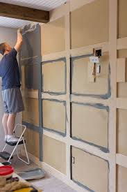 Master Makeover DIY Paneled Wall